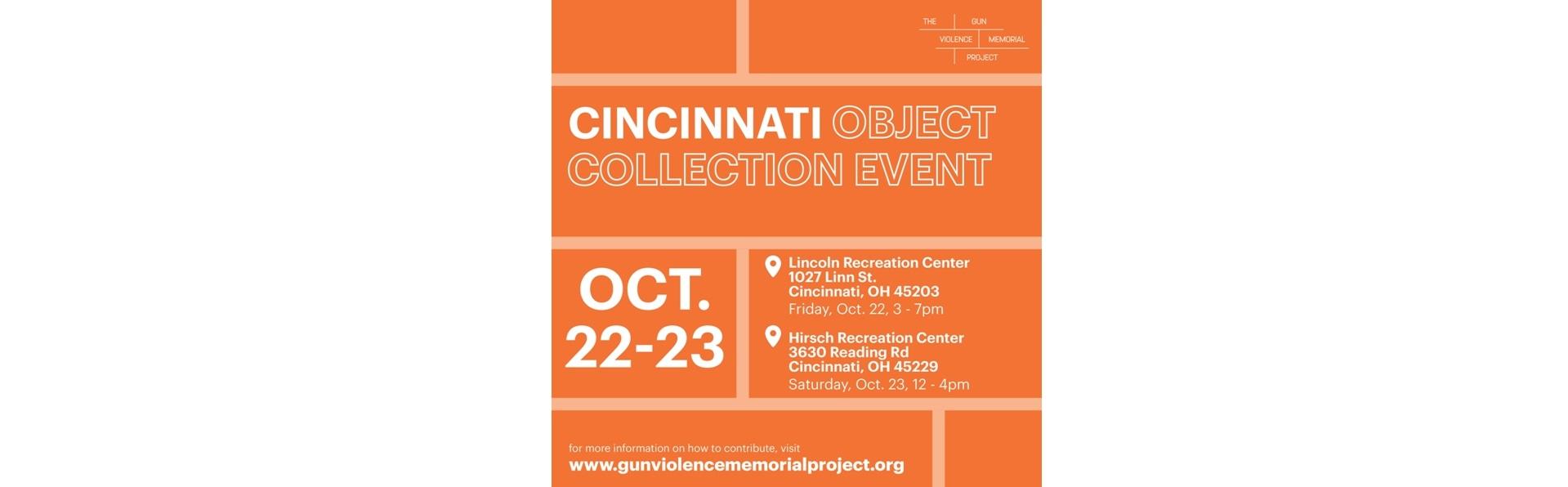 Cincinnati Object Collection Event
