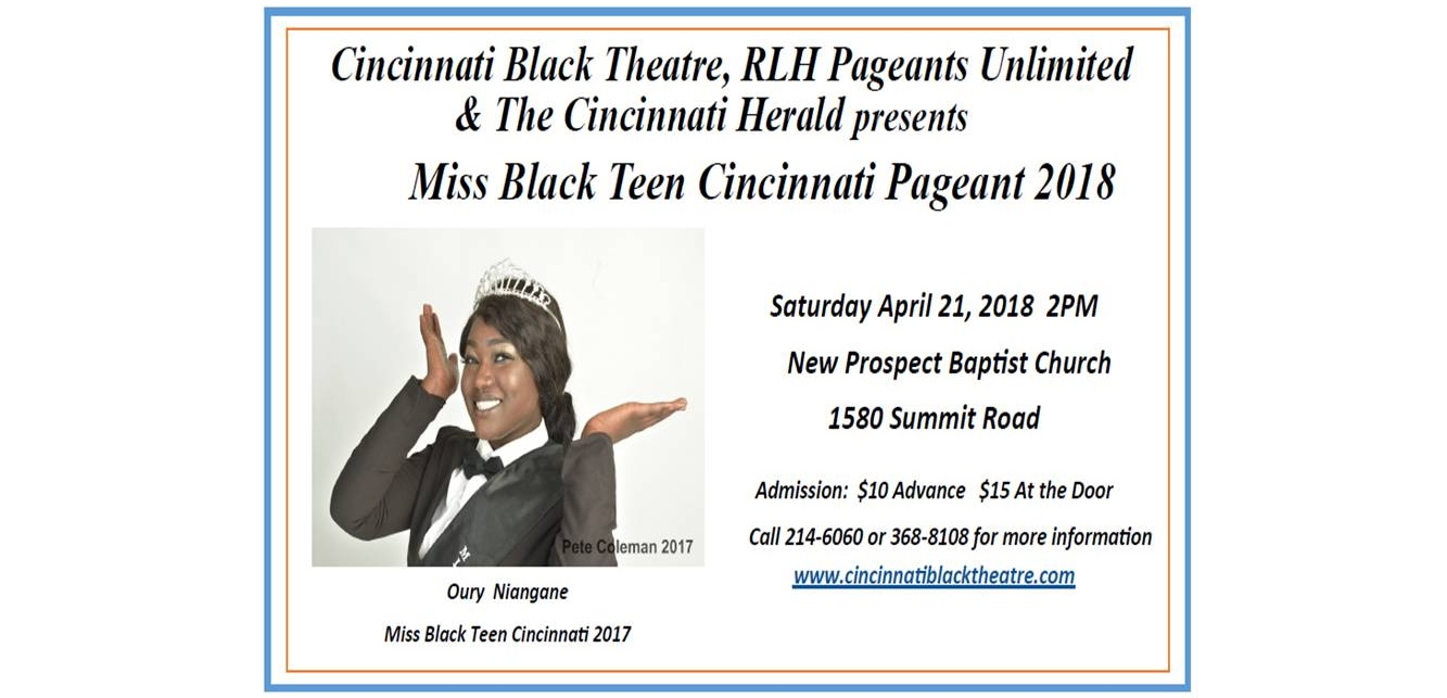 2018 Miss Black Teen Cincinnati Pageant